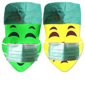 Comedytragedy_surgical_masks